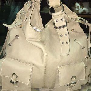 Tano soft leather shoulder bag